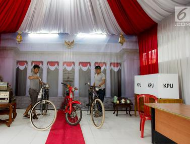 TPS 30 Depok Hadirkan Nuansa Istana Negara Tempo Dulu