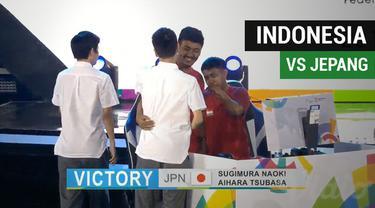 Berita video Tim Indonesia kalah 0-2 dari Jepang di cabang E-Sports gim PES (Pro Evolution Soccer) dalam eksebisi Asian Games 2018.