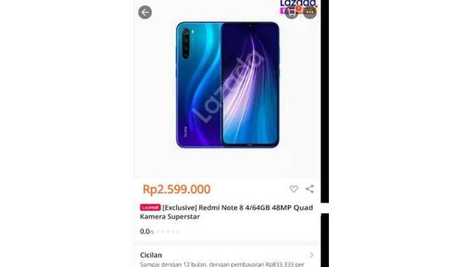 Bocoran harga Redmi Note 8 di Indonesia. Dok: Istimewa