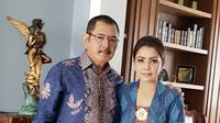 Mayangsari dan Bambang Trihatmodjo. (Foto: Instagram @mayangsaritrihatmodjoreal)
