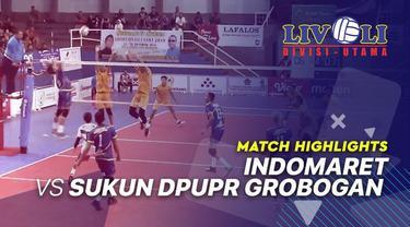 Berita Video Highlights Livoli 2019, Indomaret 3 vs 2 Sukun Dpupr Grobogan