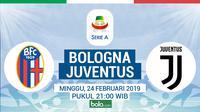 Serie A: Bologna Vs Juventus (Bola.com/Adreanus Titus)