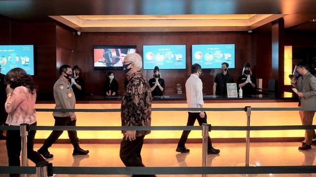 Bioskop Cinema XXI di Jakarta Batal Dibuka