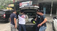 Polisi amankan dua karung sabu dan ekstasi (Dok. Polisi)
