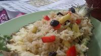 Nasi goreng merupakan hidangan hasil asimilasi budaya dan kini merepresentasikan hidangan dari Indonesia (Liputan6.com/ Switzy Sabandar)