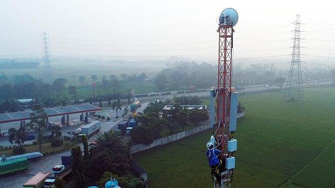 EXCL XL Axiata Operasikan Jaringan 4G Program USO di Pesisir Barat Lampung - Tekno Liputan6.com
