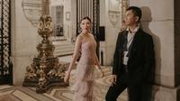 Jusup Maruta Cayadi dan Clarissa Wang pasangan yang rencana pernikahannya viral di media sosial. (dok. Instagram @joshhendries/https://www.instagram.com/p/BqyYnOYj4mr/Asnida Riani)