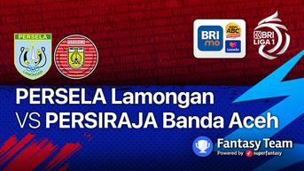 Link Live Streaming Vidio, BRI Liga 1 Selasa, 28 September 2021: Persela Lamongan vs Persiraja Banda Aceh