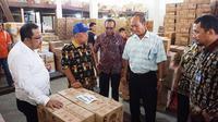 Staf Ahli Bidang Iklim Usaha dan Hubungan Antar Lembaga, Suhanto terbang ke Jayapura untuk menghadiri rapat koordinasi daerah (Rakorda) terkait ketersediaan pasokan dan stabilisasi harga bahan pokok.