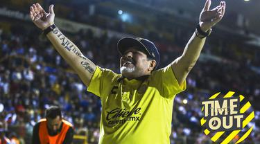 Berita video Time Out yang membahas tentang para legenda yang kariernya dalam melatih bisa terhitung gagal seperti Diego Maradona.