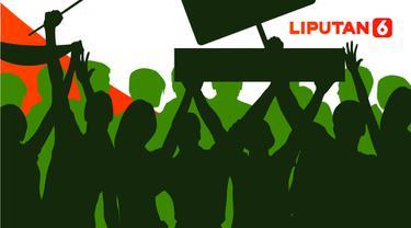 Ilustrasi Demo Anarkistis. (Liputan6.com/Abdillah)