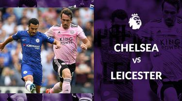 Berita video statistik Chelsea vs Leicester City pada laga pekan ke-2 Premier League 2019-2020, Minggu (18/8/2019) di Stamford Bridge, London.
