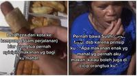 Pria ini ingin ibunya juga mencicipi makanan yang ia anggap mahal. (Sumber: TikTok/eloardoaruanse)