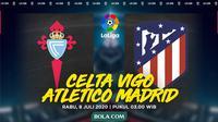 La Liga - Celta Vigo Vs Atletico Madrid (Bola.com/Adreanus Titus)