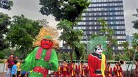 Tanjidor, Pamor Orkes Betawi di Perayaan Imlek 2020 (Foto: Liputan6/Rizki Putra Aslendra)