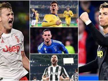 Gaji Tertinggi di Juventus