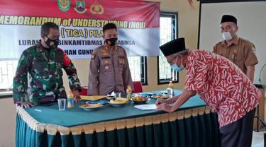 Restorative Justice Kapolri Listyo Sigit Mulai Di Terapkan. (Selasa, 09/03/2021). (Dokumentasi Polsek Ciwandan).