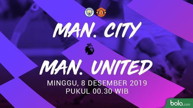 Premier League - Manchter City Vs Manchester United (Bola.com/Adreanus Titus)