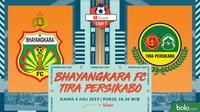 Shopee Liga 1 - Bhayangkara FC Vs PS Tira Persikabo (Bola.com/Adreanus Titus)