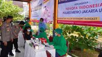 Toyota Indonesia menggelar program vaksinasi gratis untuk masyarakat. (Foto Dok. Toyota Indonesia)