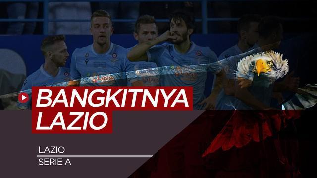 Berita Video kebangkitan Lazio, Si Elang yang kembali terbang tinggi di Serie A