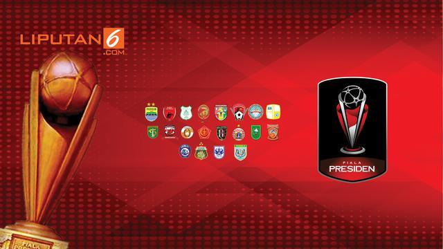 Banner Infografis Piala Presiden