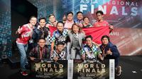 Tim asal Indonesia berhasil juarai turnamen esports PES di Tokyo, Jepang. (Doc: @Liga1PES)