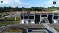Bandara Haji Muhammad Sidik di Barito Utara, Kalimantan Tengah.