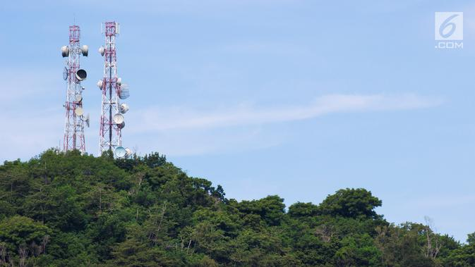 Ilustrasi Tower BTS (iStockPhoto)
