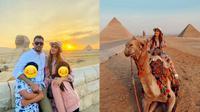 Potret Liburan Keluarga Tania Nadira di Mesir. (Sumber: Instagram/tanianadiraa)
