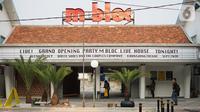 Penampakan ruang kreatif yang berada di kawasan M Bloc Space, Blok M, Jakarta, Senin (14/10/2019). Ruang kreatif baru tersebut lahir dari rumah dinas Peruri yang sempat terabaikan selama puluhan tahun. (Liputan6.com/Immanuel Antonius)