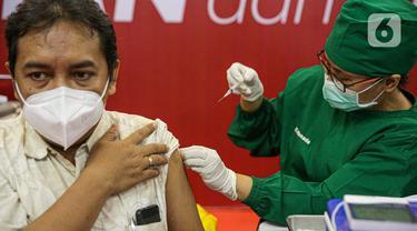 Vaksin Kedua untuk Pelaku Usaha Perdagangan