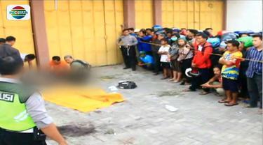 Remaja laki-laki diduga anak punk tewas di depan toko kosong di Jombang, Jawa Timur, dengan luka tusuk di kepala.