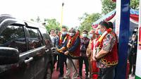 BBM Satu Harga kini hadir di salah satu desa di Kabupaten Nias Barat, Sumatera Utara. Dok
