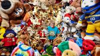 Lansia ini memecahkan rekor dengan memiliki boneka teddy bear terbanyak di dunia