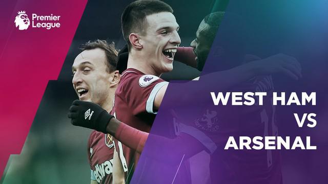 Berita video Arsenal gagal raih poin penuh di markas West Ham pada lanjutan Premier League