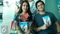 Michelle Ziudith dan Rizky Nazar akan membintangi film I Love You (ILY) From 38.000 Feet. [Foto: Rizky Aditya Saputra/Liputan6.com]
