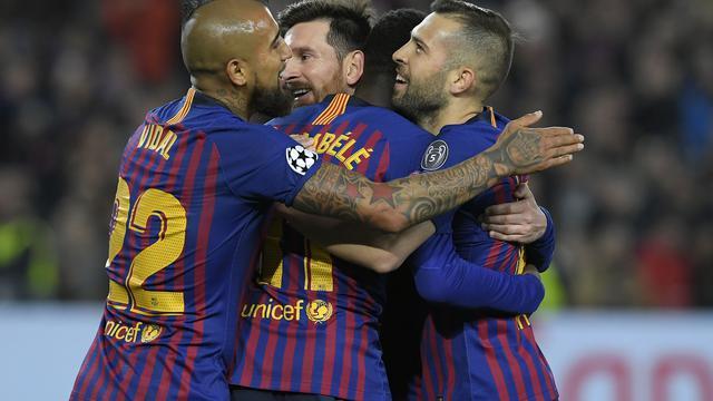 Barcelona Singkirkan Lyon