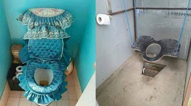 6 Desain WC Duduk Ini Unik Banget, Bikin Gagal Paham