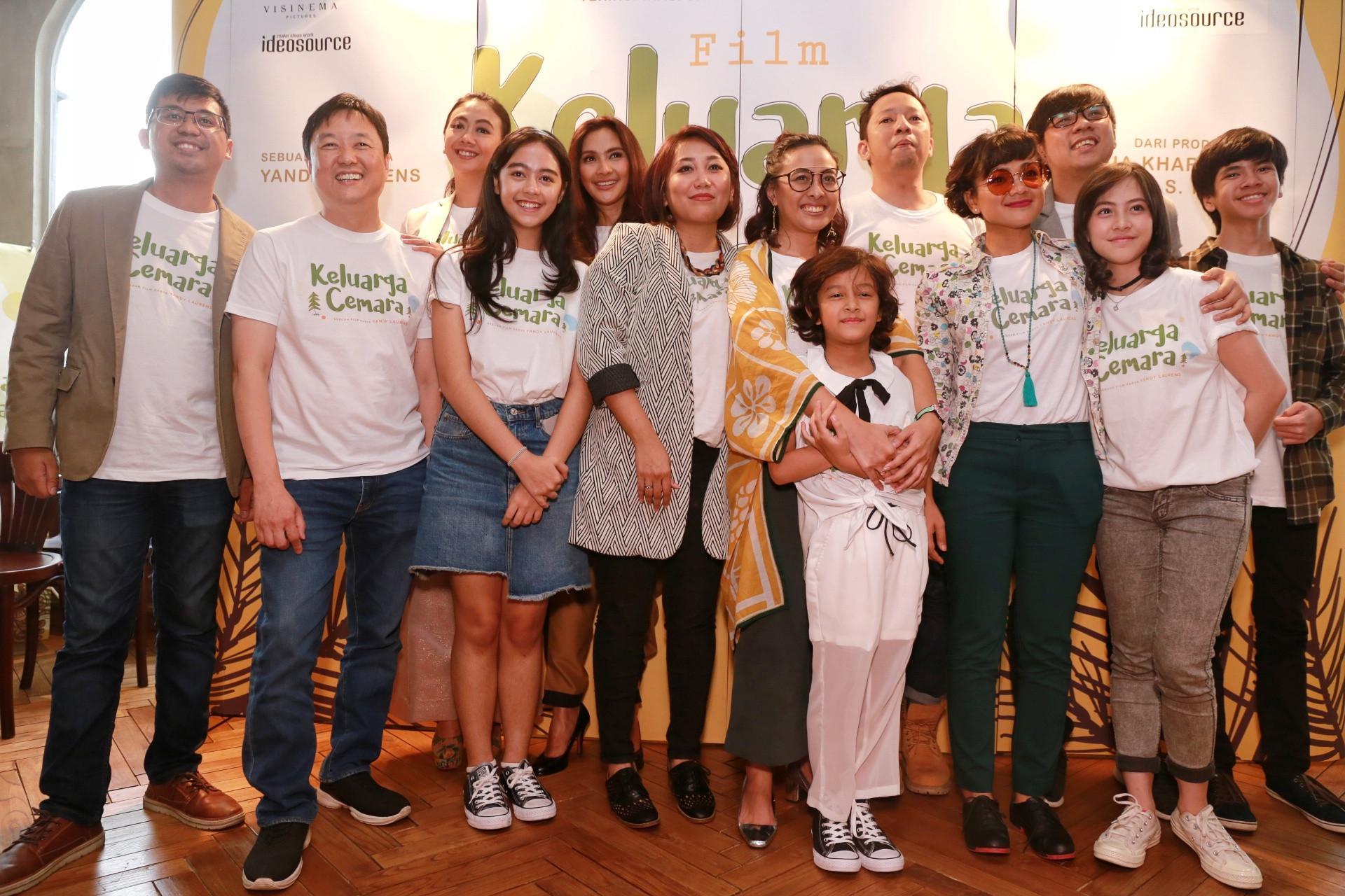 Keluarga Cemara (Adrian Putra/Bintang.com)
