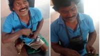 Pria di India, Siang Mengemis Malam Hari Jadi Pebisnis (gulfnews)