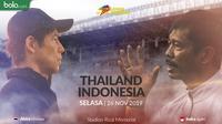 Sea games 2019 - Sepak Bola - Thailand Vs Indonesia 3 (Bola.com/Adreanus Titus)