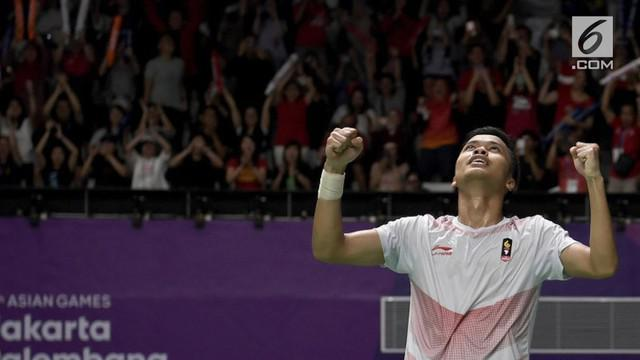 Anthony Sinisuka Ginting berhasil merebut juara China Open 2018. Ternyata kemenangan Ginting mengukir sejarah baru Bulu tangkis Indonesia.