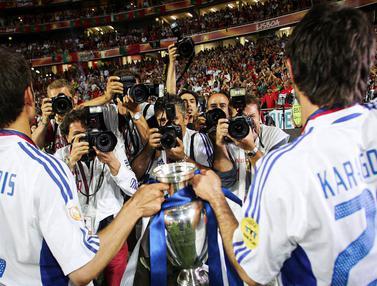 Foto Piala Eropa: Tak Pernah Terprediksi, 5 Negara Kuda Hitam yang Mampu Kejutkan Piala Eropa