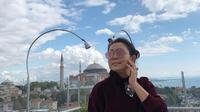 Mayangsari menikmati liburan bersama Bambang Trihatmodjo dan Khiran di Turki (Dok.Instagram/@mayangsaritrihatmodjo/https://www.instagram.com/p/B3TmzapgIEm/Komarudin)