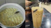 6 Momen Apes saat Makanan Dihinggapi Kecoa Ini Bikin Perut Mual (sumber: 1cak dan Instagram/asupanmemekocak)