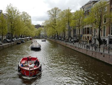 Dulu Kotor dan Bau, Ini Penampakan Kanal di Belanda Sekarang