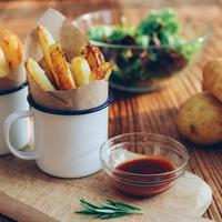 potato wedges/copyright: unsplash/realmac dan