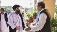 Kunjungan Mullah Baradar, pendiri Talliban menghandiri konferensi di Pakistan. (Source: AFP)