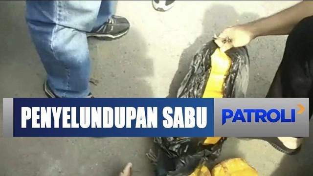 BNN berhasil menyita 16 kg sabu selundupan dari Malaysia yang diduga dikendalikan napi Lapas Tanjung Gusta.